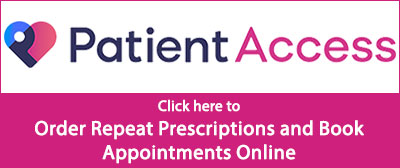 Click here to Order Repeat Prescriptions and Book Appointments Online